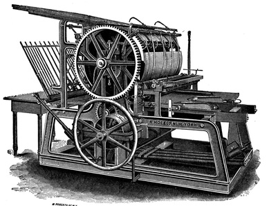 Printing Press - The Renaissance